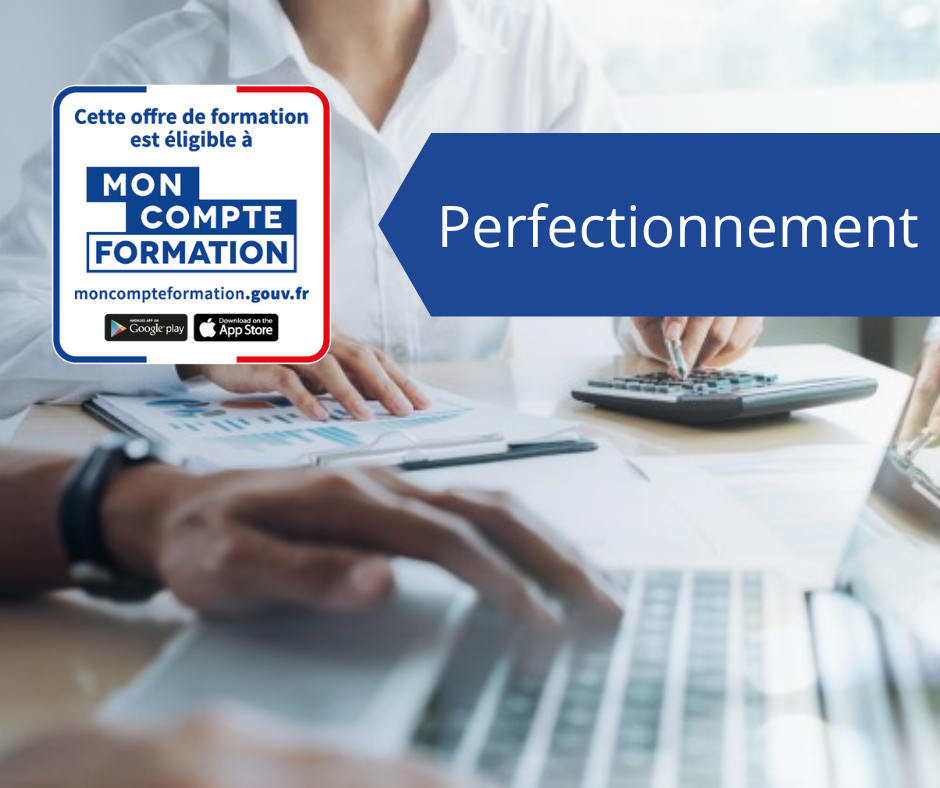 formation excel perfectionnement finance par moncompteformation
