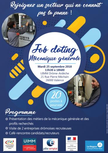 job dating metiers mecanique