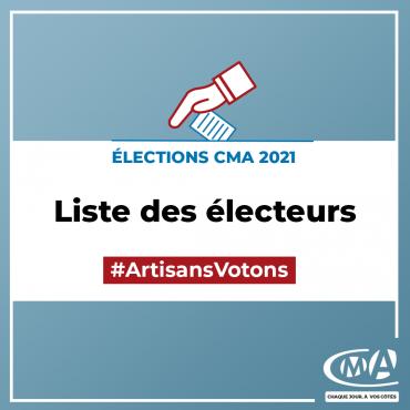 Liste des électeurs - CMA Auvergne-Rhône-Alpes