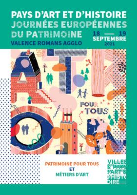 Journées européennes du patrimoine Valence Romans Agglo : Patrimoine pour tous et Métiers d'Art