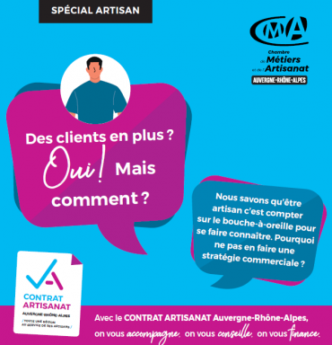 accompagnement commercial contrat artisanat