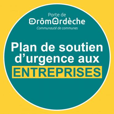 Fonds d'urgence Porte de DrômArdèche aux petites entreprises (COVID 19)